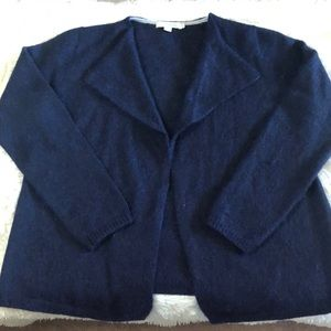 Boden classic navy cardigan size large